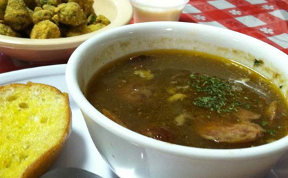 B & C Seafood Restaurant in Louisiana's River Parishes